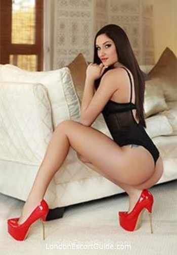 Mayfair brunette Beverly london escort