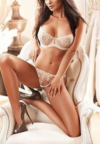 South Kensington brunette Angelina london escort