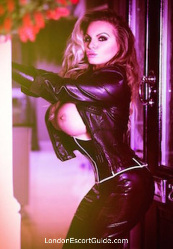 Knightsbridge pvc-latex Jemma Jay london escort