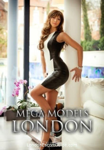 Notting Hill brunette Monica london escort