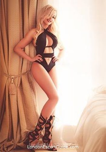 South Kensington blonde Rihanna london escort