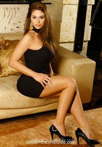 Earls Court brunette Cathy Heaven london escort