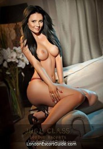 South Kensington brunette Chantall london escort