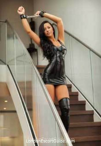 Kensington brunette Mistress Alicia london escort