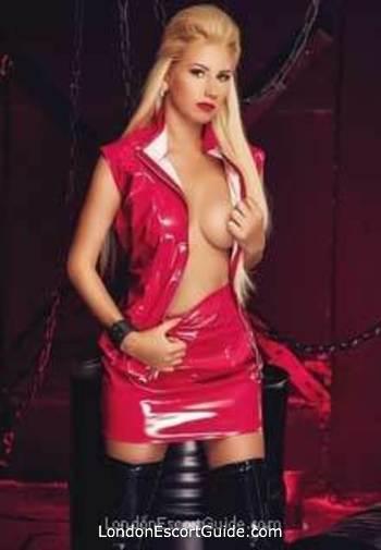 Kensington blonde Mistress Alex london escort