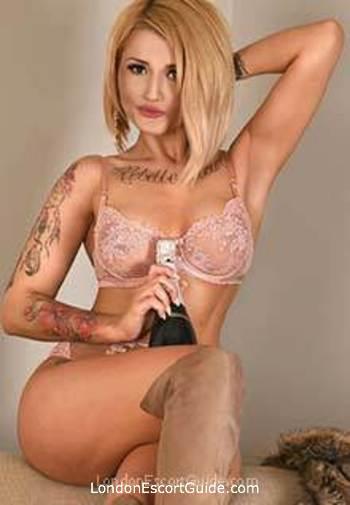 South Kensington blonde Mistress Maya london escort