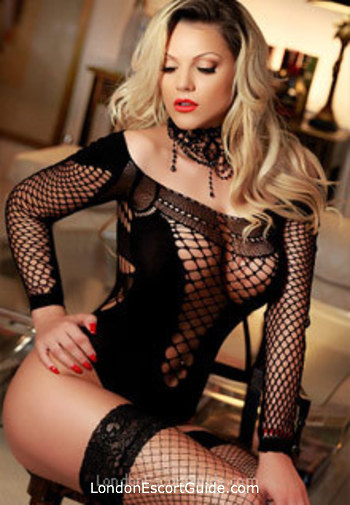 South Kensington blonde Loren london escort