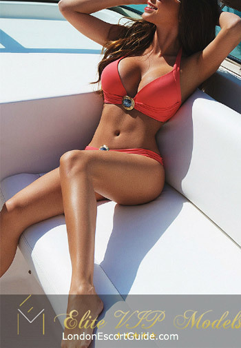 South Kensington brunette Inesa london escort