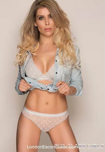 South Kensington blonde Barbara london escort