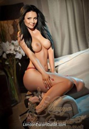 central london brunette Chantall london escort