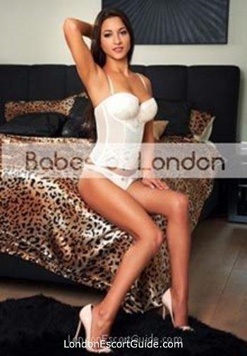 Chelsea brunette Valentina london escort