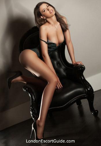 South Kensington brunette Ramone london escort