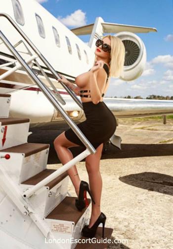 Kensington Olympia blonde Milly Miller london escort