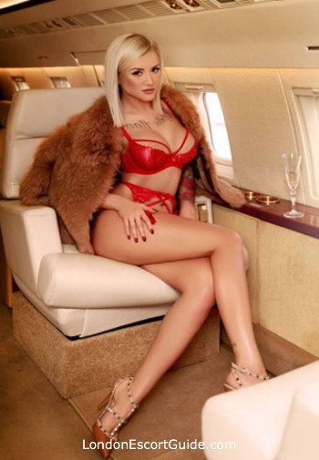 Kensington Olympia blonde Milly Miller london escort