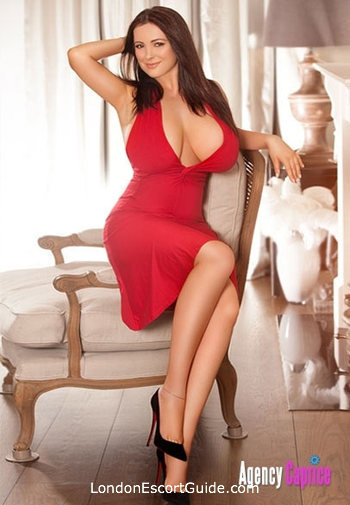 South Kensington busty Carina london escort