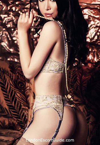 Knightsbridge brunette Ayumi london escort