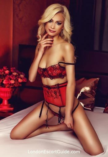 Chelsea blonde Tania london escort