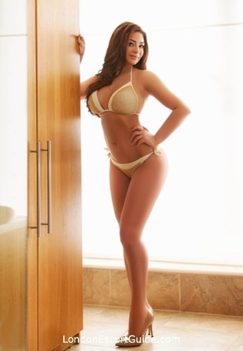 Notting Hill brunette Dominique london escort