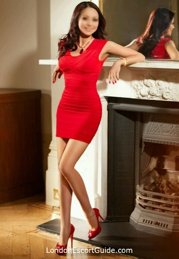 Marylebone brunette Leanna Li london escort