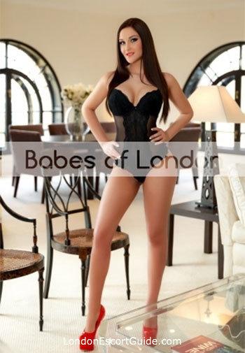 Marylebone brunette Roberta london escort