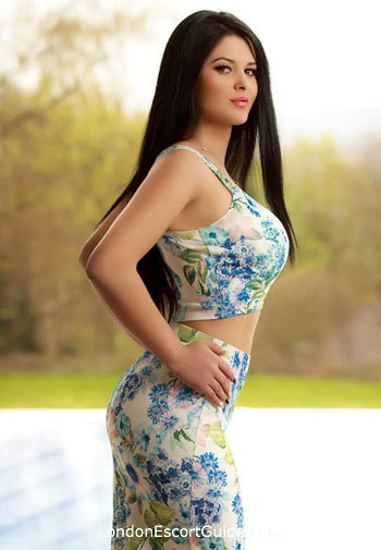 Marylebone brunette Nikolete london escort