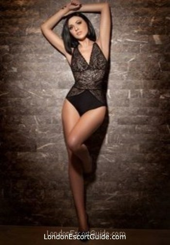 Baker Street brunette Tiana london escort