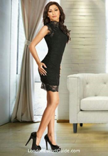 Knightsbridge brunette Marisol london escort