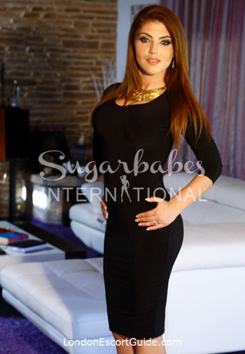 Chelsea brunette Bijou london escort
