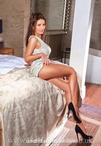 Chelsea brunette Ranya london escort