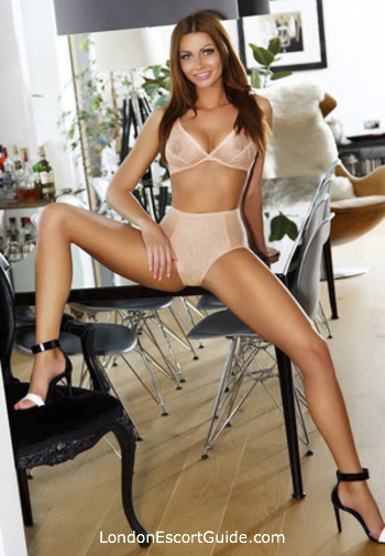 South Kensington brunette Alfia london escort