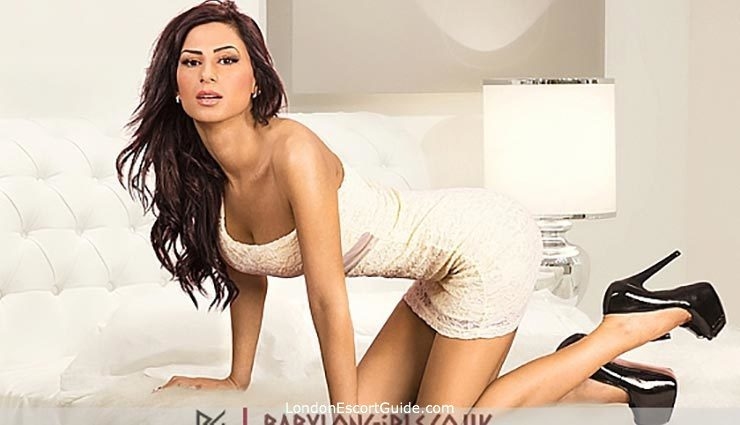 Knightsbridge brunette Marisol london escort