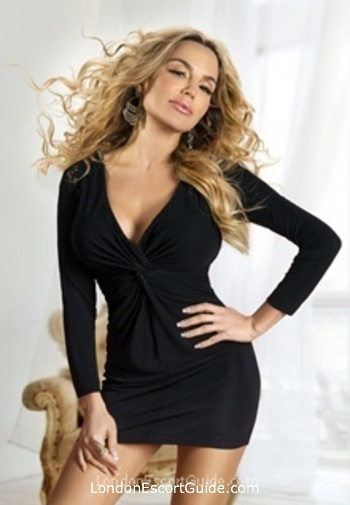 Chelsea blonde Alessandra london escort