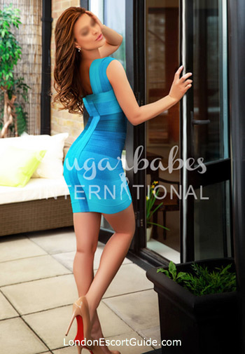 Knightsbridge brunette Magnolia london escort