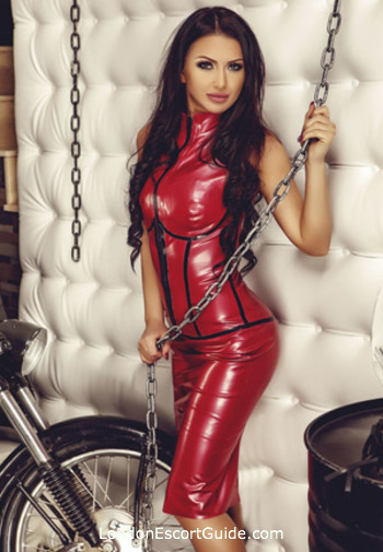 Kensington pvc-latex Roxy london escort
