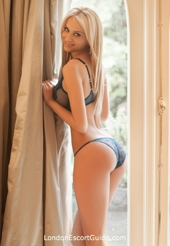 Queensway blonde Alice london escort