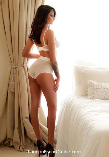South Kensington brunette Shara london escort