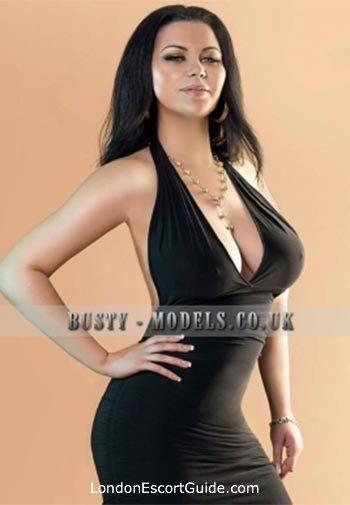 South Kensington brunette Aniss london escort