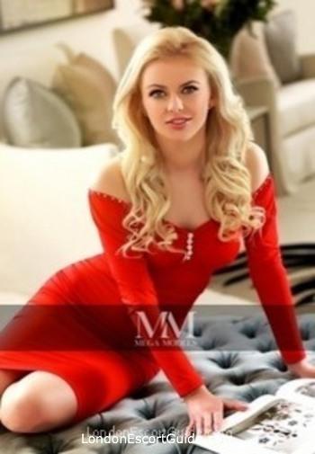 Chelsea blonde Svetlana london escort