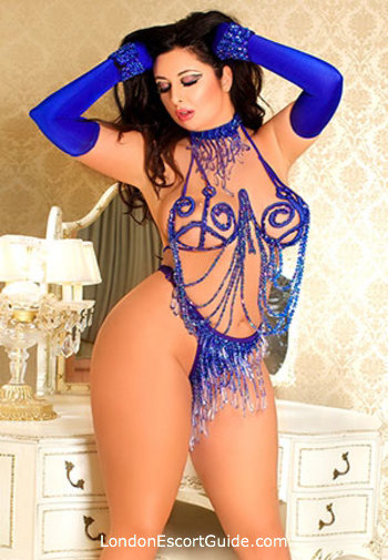 Oxford Street brunette Batul london escort