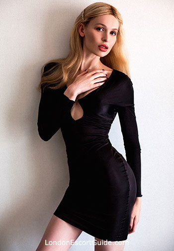 South Kensington blonde Margo london escort