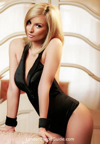 South Kensington blonde Gemma london escort