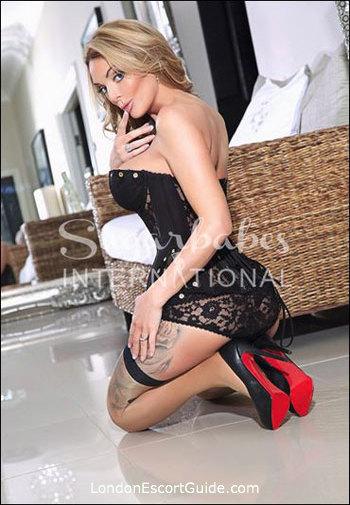 Westminster blonde Stacey Saran london escort