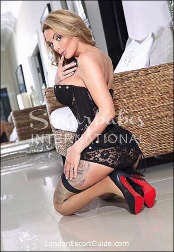 Westminster blonde Stacy Saran london escort