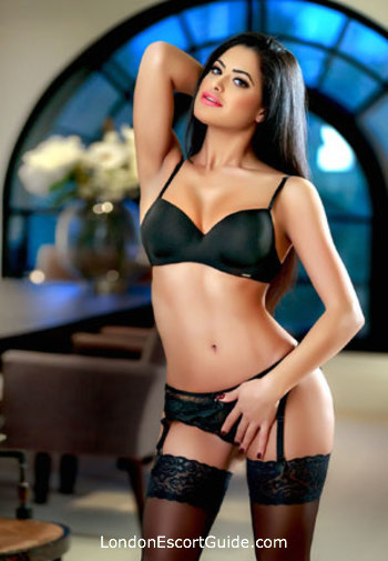 South Kensington brunette Penelope london escort
