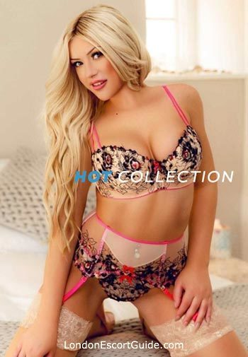 South Kensington blonde Agnes london escort