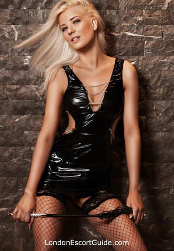 South Kensington blonde Kirsten london escort