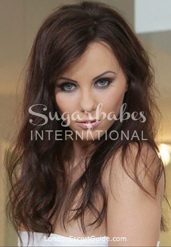 Kensington brunette AlysaGap london escort