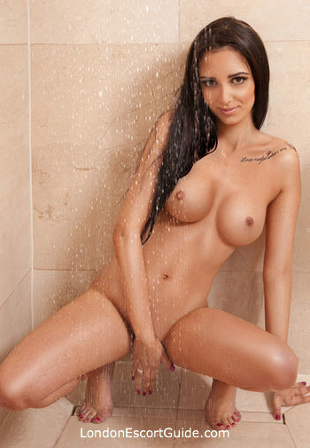 central london brunette Ethel london escort
