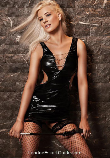 Chelsea blonde Mia london escort