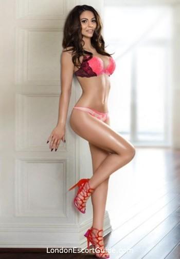 South Kensington brunette Anise london escort
